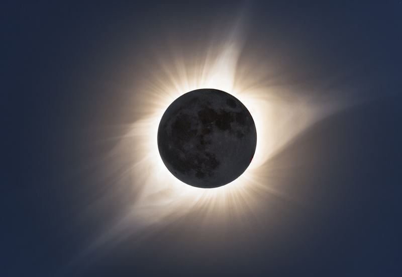 Totality in HDR. - North America