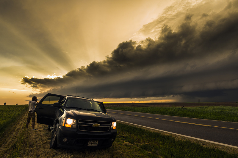 Smith County supercell. - Weather photography