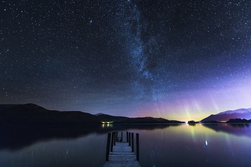 Northern Lights over the Lake District - Lake District & Cumbria