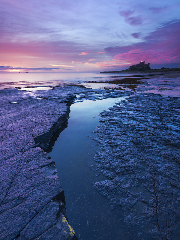 Bamburgh Rocks - Castles and Fortresses
