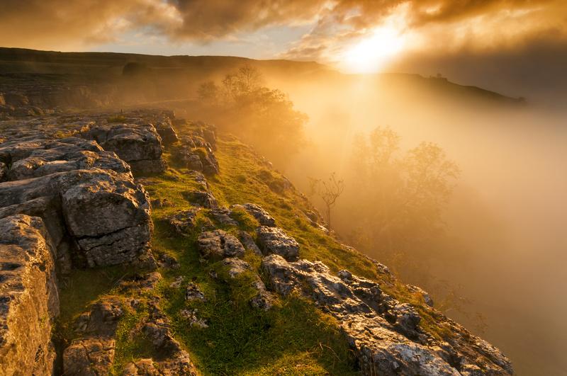 Malam Cove sunrise - Yorkshire Dales & Yorkshire