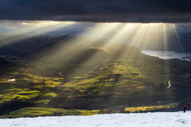Blencathra light - Lake District & Cumbria