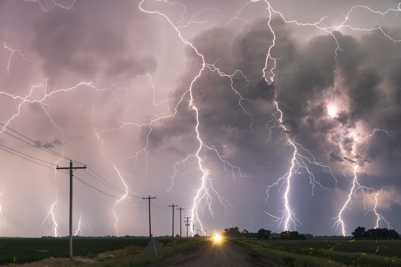 The Perfect Storm - Weather photography
