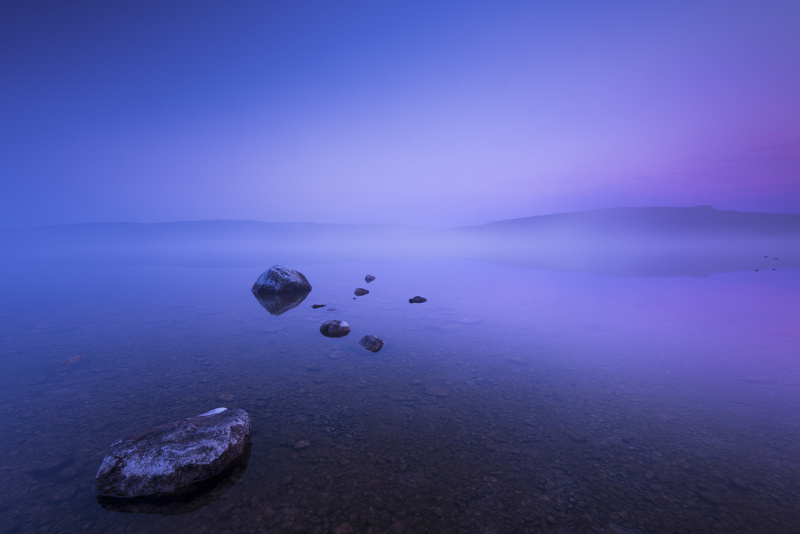 Malham Tarn misty dawn - Yorkshire Dales & Yorkshire