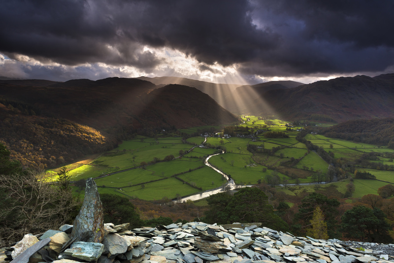 Cumberland Borrowdale - Lake District & Cumbria