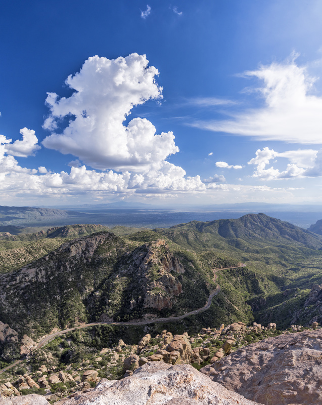 View from MT Lemmon - North America