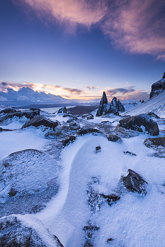 Winter on the Storr. Isle of Skye. - Scotland
