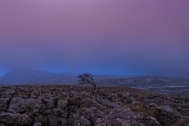 Twistleton Scar dusk - Yorkshire Dales & Yorkshire