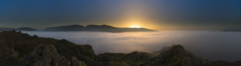 Helm Crag Twilight - Lake District & Cumbria
