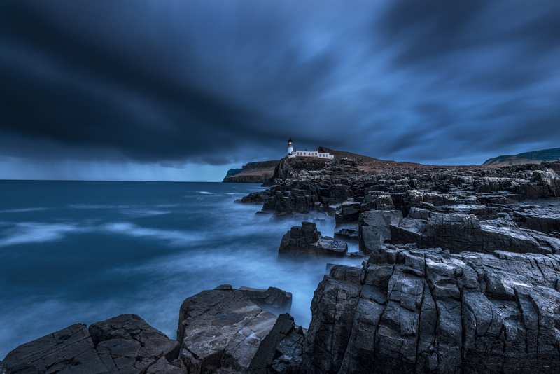 Neist Point Storm - Scotland