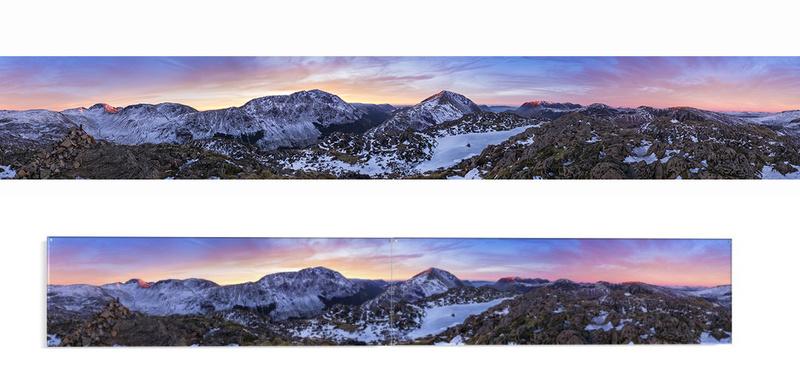 Haystacks sunset 360 - Lake District & Cumbria