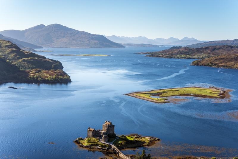 Eilean Donan castle, Scotland - Castles and Fortresses