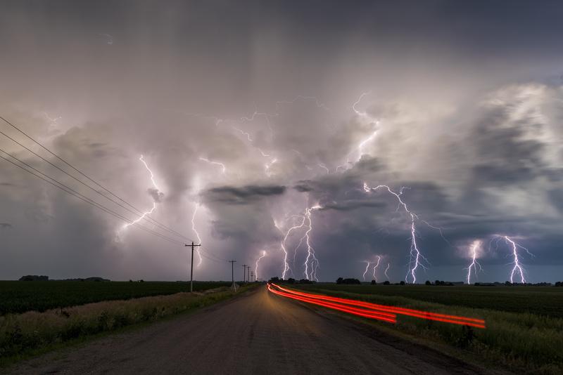 Electric Nebraska - Weather photography
