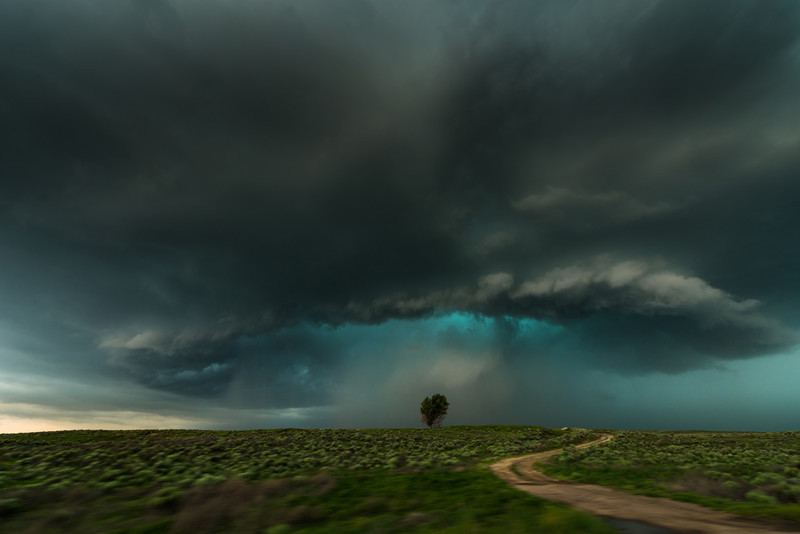 Lamar storm. Colorado. - Weather photography