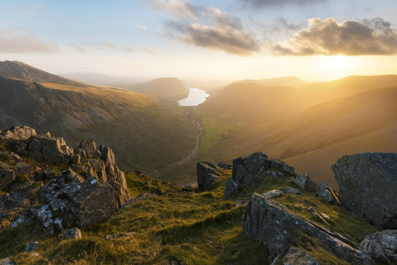 Great Gable sunset - Lake District & Cumbria