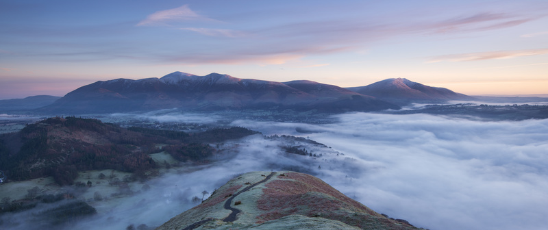 Skiddaw dawn - Lake District & Cumbria