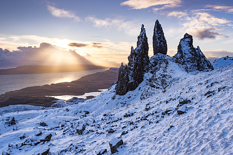 Old Man of Storr Winter sunrise - Scotland