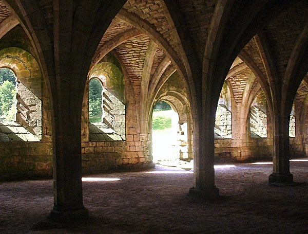 Fountains Abbey, North Yorkshire - Antiquity