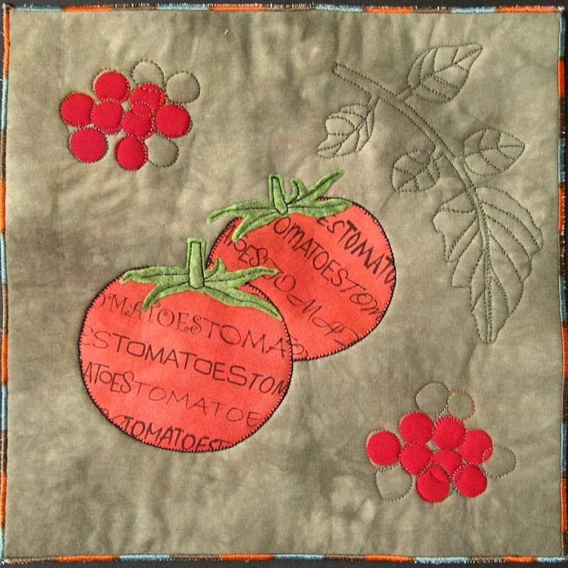 2011 September Tomatoes - JOURNAL QUILTS