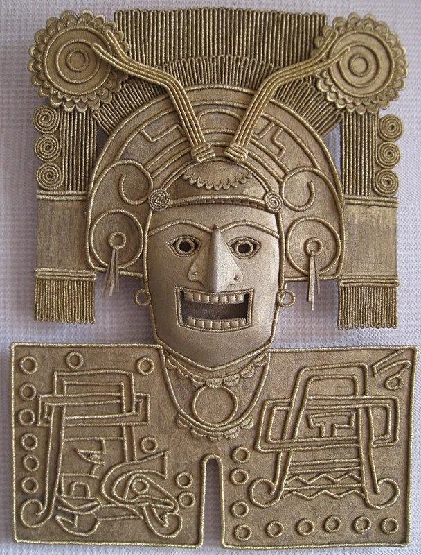 Mixtec Warrior Mask - Maya Series