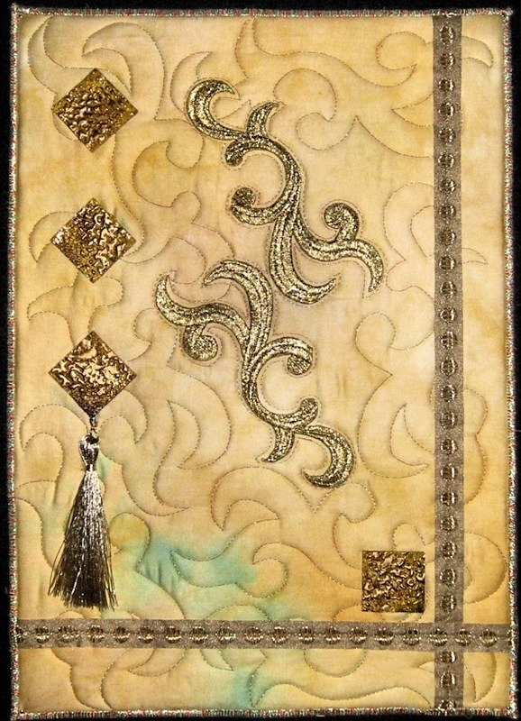 2012 July - Gold Mix - JOURNAL QUILTS
