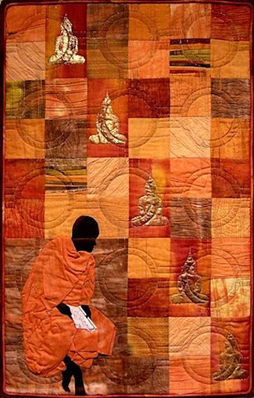 The Colours of Thailand - Saffron Robes - Places