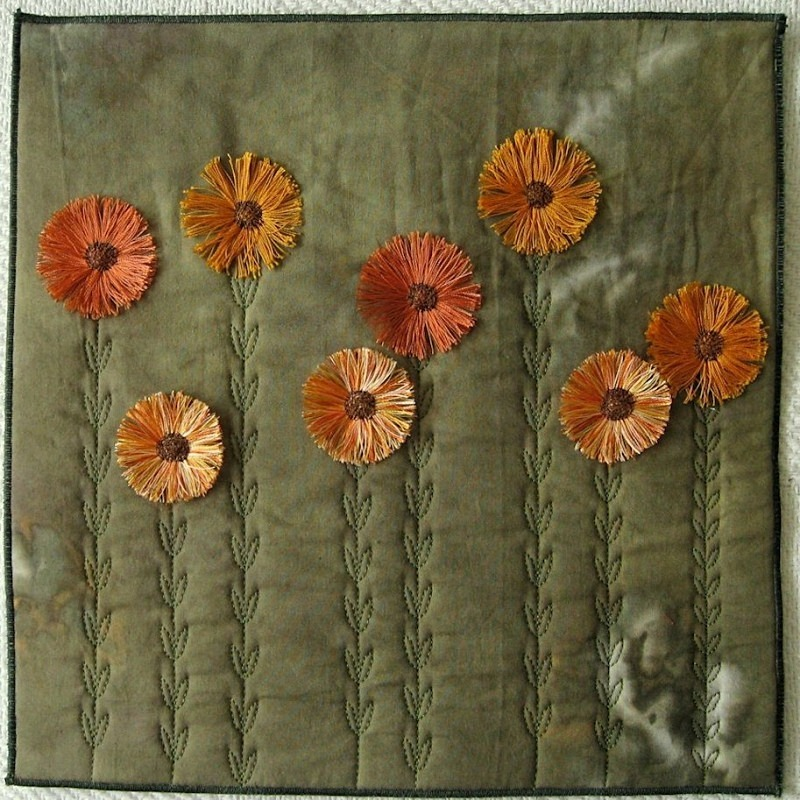 2011 May Flowers - JOURNAL QUILTS
