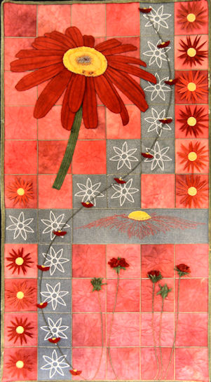 Red Daisies - Plants & Flowers