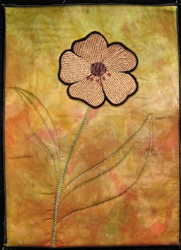 2012 August - Flower - JOURNAL QUILTS