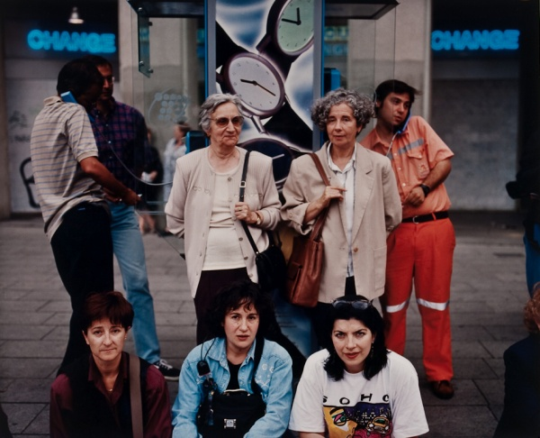 Five Women, Barcelona, 1998 - Britain and Spain