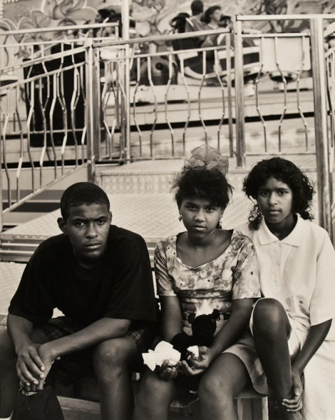 Kids at Fair,  Missouri, 1992 - Missouri Portraits