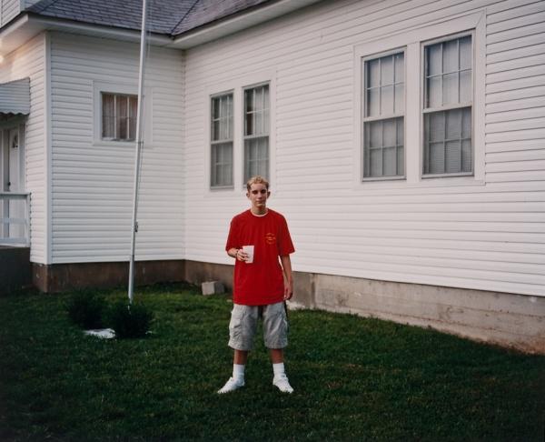 Young Man at Church Camp, Missouri, 1999 - Missouri Portraits