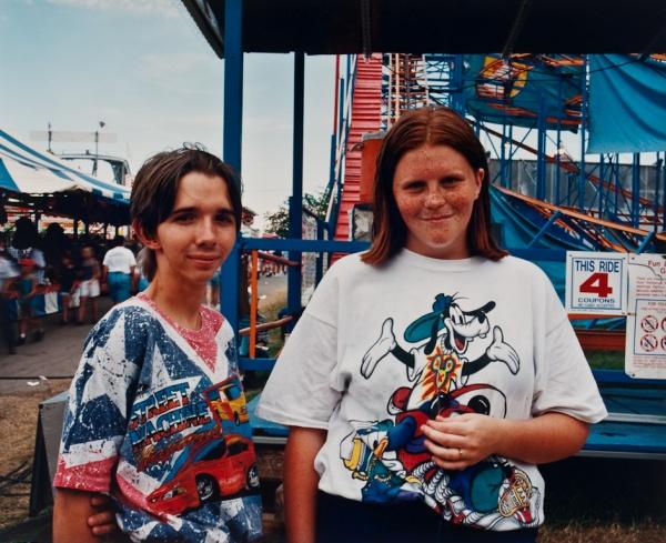Young Couple at Fair, Missouri, 1999 - Missouri Portraits