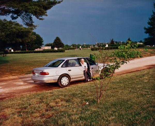 The Man in the Car, Missouri, 1998 - Missouri Portraits