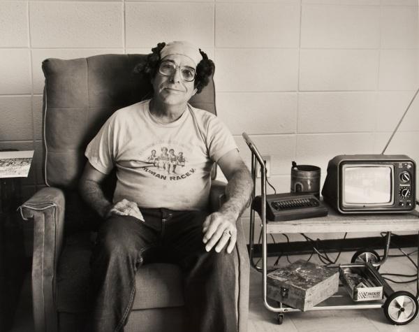 Robert E Smith with Purple Wig, Missouri, 1992 - Missouri Portraits