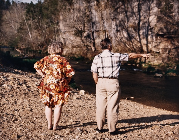 Bob and Jeanette at Trout Farm, Missouri, 1995 - Missouri Portraits