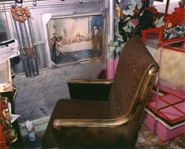 The Reverend's Golden Chair, Mississippi, 2002 - The True Gospel Preached Here