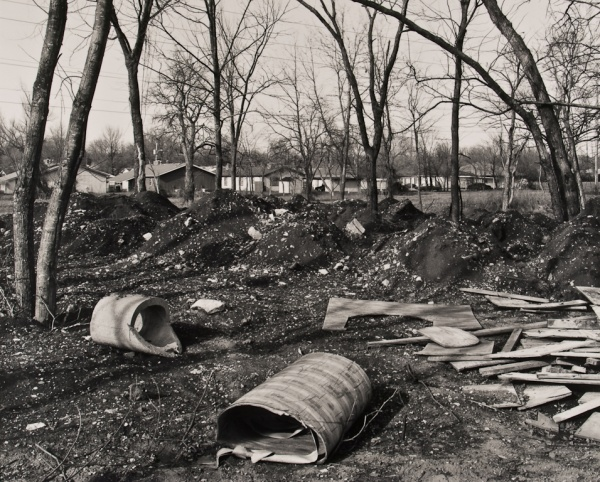 The Woods Behind the Houses, Missouri, #4, 1992 - Landscapes
