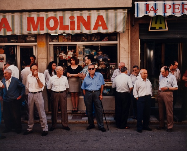 Awaiting the Funeral, Spain, 1998 - Britain and Spain