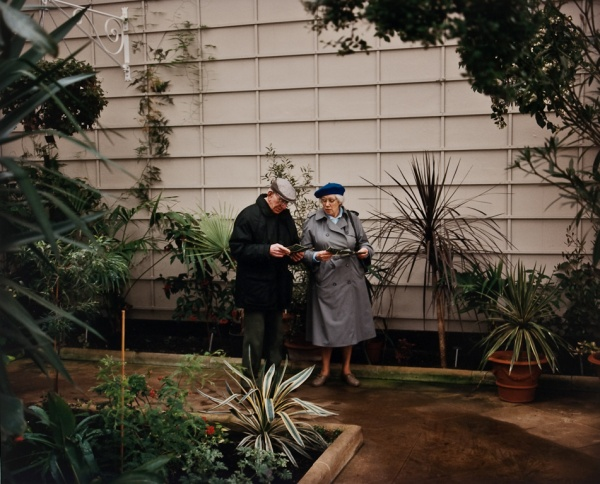 Couple in Conservatory, 1997 - Britain and Spain