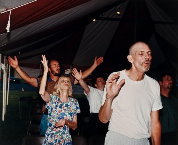 Tent Revival, Missouri, #1, 1999 - Missouri Portraits