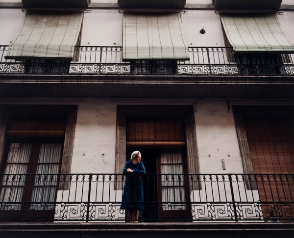 Woman on Balcony, Barcelona, 1998 - Britain and Spain