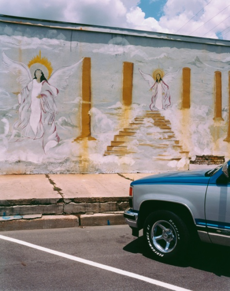 Angels and Truck, Mississippi, 2002 - Take Time to Appreciate