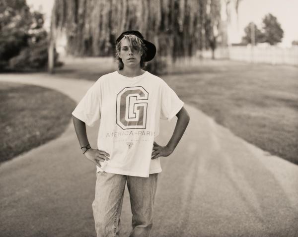 Deanna in Park,  Missouri, 1992 - Missouri Portraits