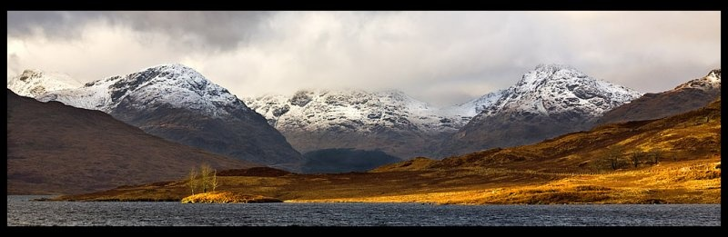 Arrochar Alps - Inland Scotland