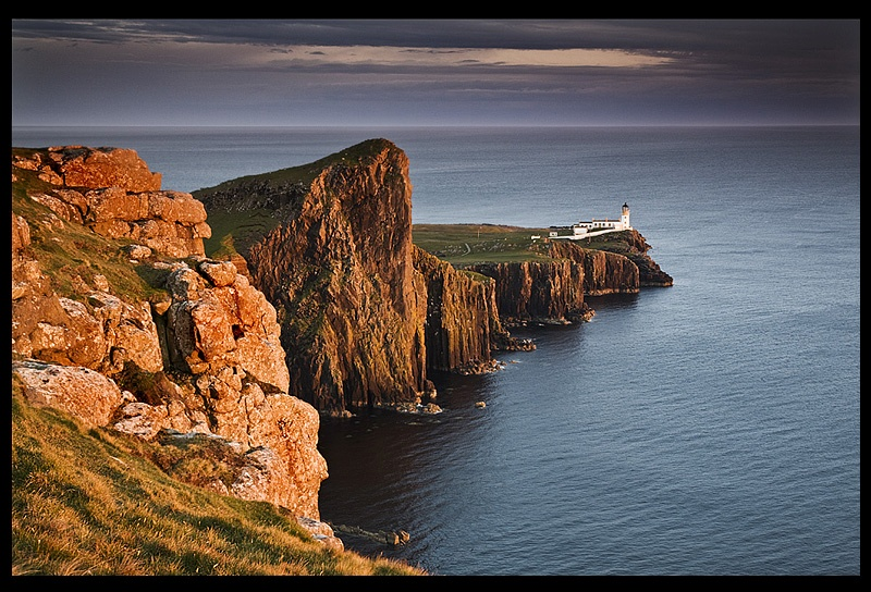 Last Light Neist Point - Isle of Skye - The Islands of Scotland