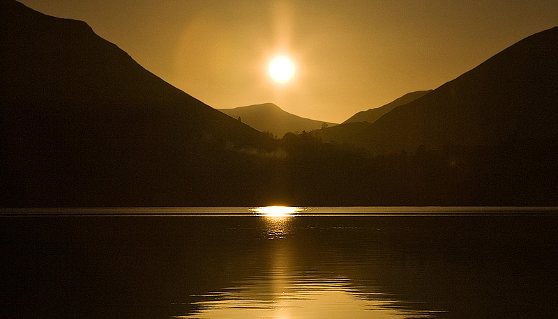 Derwent Water - Lake District - Inland and Coastal England