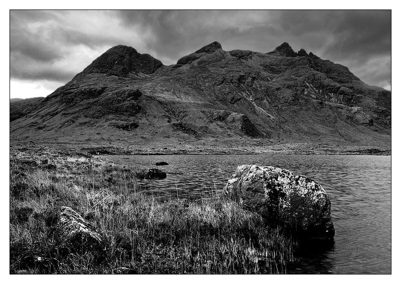 Lochan Dubha - Skye - Monochrome Images