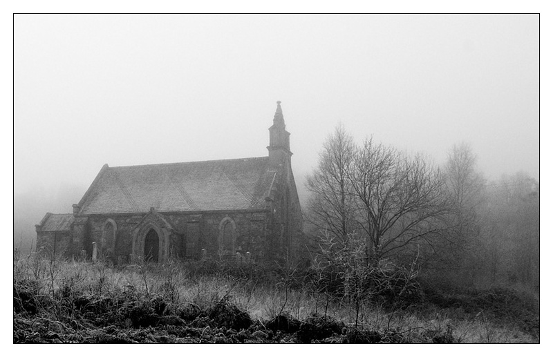 Trossachs Church - Monochrome Images