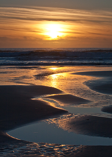 Golden Light - Bay of Stoer - Coastal Scotland